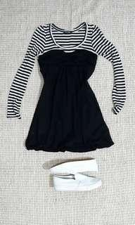 LONGSLEEVES DRESS