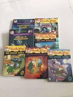 Geronimo Stilton Books bundle
