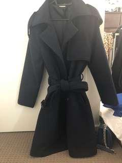 Dark navy long coat