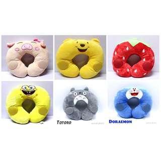 Spongebob /strawberry /pooh /doraemon /pig /totoro pillow
