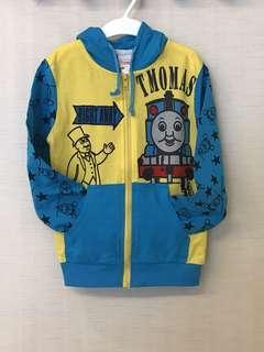 🚚 日本 Thomas & Friends 兒童連帽外套 Size 110 cm.