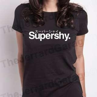 Supershy Parody Top