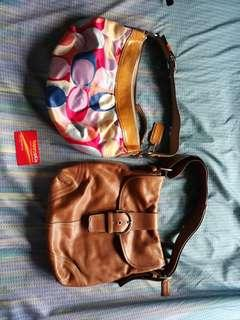 Coach bags bundle 1