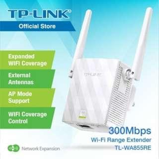 TP-Link TL-WA855RE 300Mbps WiFi range extender