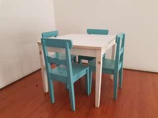 Wodden Table Set (free delivery)