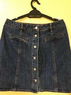 Pull &Bear Denim skirt L size