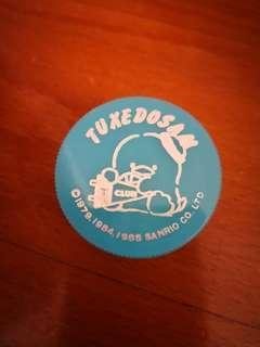Tuxedosam 企鵝日本絕版1985年筆刨