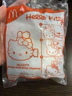 Hello Kitty Perfume Bottle Sticker Dispenser Happy Meal