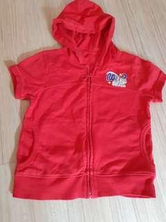 Short leeves jacket