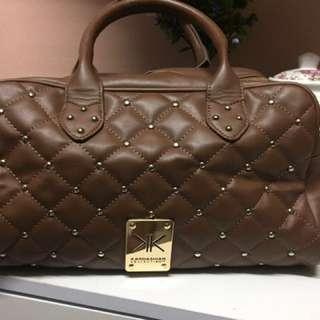 Kardashian kollection brown hobo bag