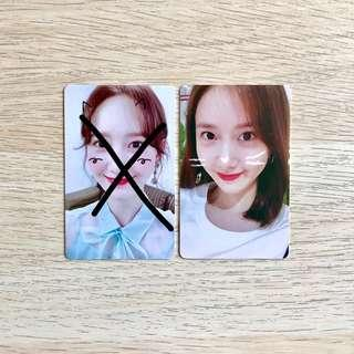 [QYOP >$60 EACH] Yoona Yoon A Im Yoon-ah So Wonderful Day SWD Official Fanmeeting Tour Fanmeet FM #STORY_1 in SINGAPORE Story 1 SNSD GG Girls' Generation Girls Generation