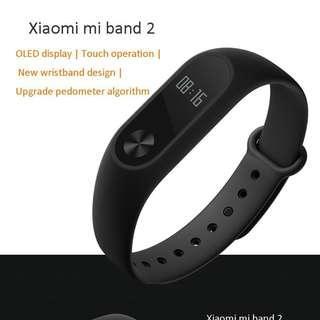 USED , LIKE NEW Xiaomi miband 2 health tracker heart rate