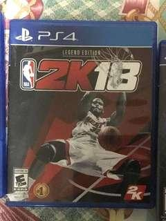 NBA 2K18 Legend Edition PS4 Game