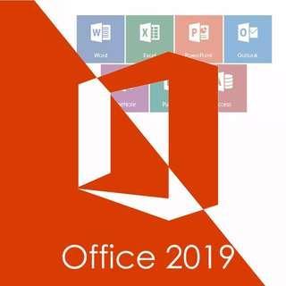 Office 2019 Pro Plus/Visio Pro 2019/Project Pro 2019 Genuine Product Key Lifetime Activation