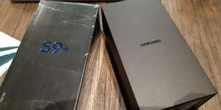 S9+ Black 128G garansi SEIN. Bulan Mei