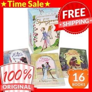 [ORIGINAL] The Shakespeare Stories Box Set (16 Books)