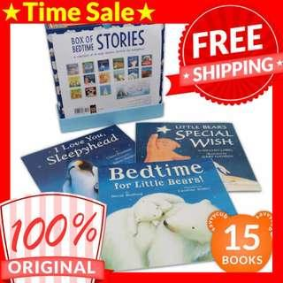[ORIGINAL] My Big Box of Bedtime Stories Collection (15 Books)