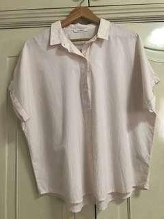 Marks and Spencer blouse peach size 16