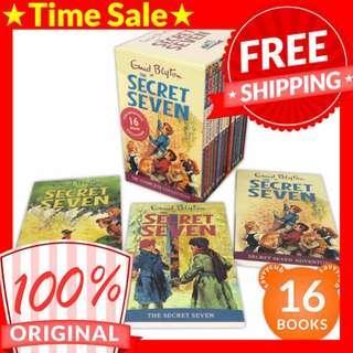 [ORIGINAL] Enid Blyton The Secret Seven Box Set (16 Books)
