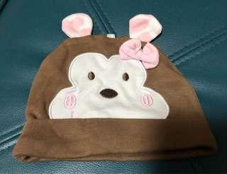 ♻️環保價♻️可愛馬騮仔BB帽 (平放頭圍約36cm, around 3M) ⭐️2件8折