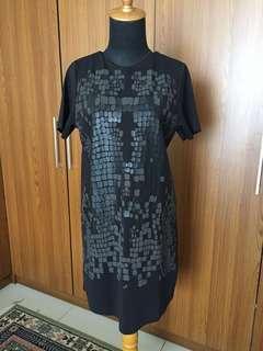 #paydaymaret Zara Black Minidress