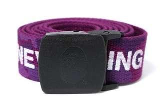 (Inclusive Of registered mailing) A Bathing Ape Colour Camo Logo GI Belt