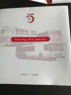25 years moving the nation- sterling 925 coin & mrt card