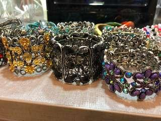 19 Bracelets!