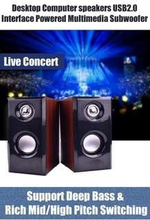 🚚 Desktop Speakers