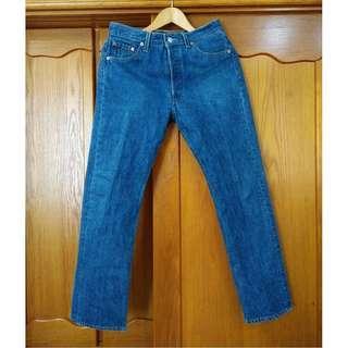 早期 美國製 Levi's 501xx-0000 古著牛仔褲 W31 L32