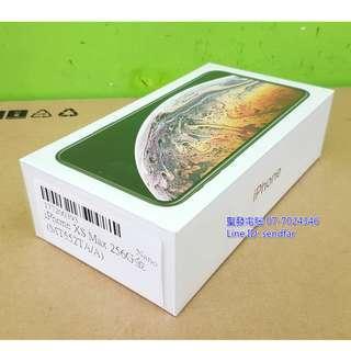 🚚 全新未拆封 Apple iPhone Xs Max 六核心 A12 Bionic 4G 256G 金色 聖發二手電腦