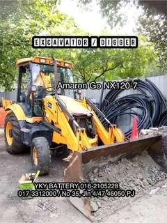 Bateri Excavator , Amaron Go NX120-7