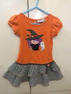 Halloween Baby Girl Dress x costume
