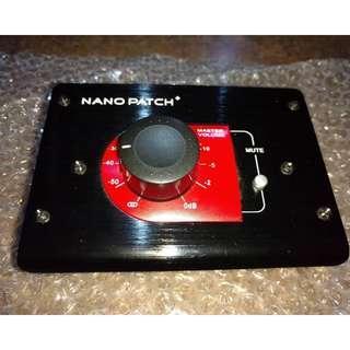 SM Pro Nano Patch Passive Volume Controller Attenuator Speaker Monitor