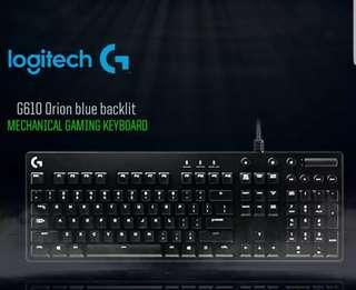 Logitech G610 and G502 mouse and keyboard combo
