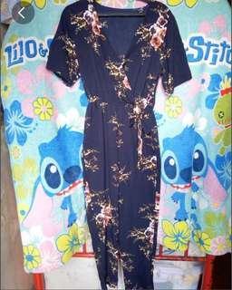 Preloved Floral Jumpsuit