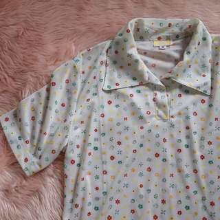Collared vintage top
