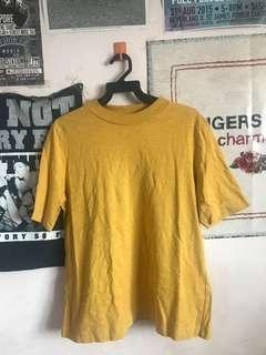 Uniqlo Mustard Top in XL