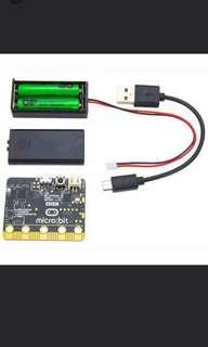 2 micro bit 2 battery pack(with batteries) with 2 games loaded ready to play