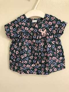 Carter's baby button down blouse
