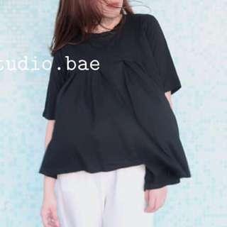 白色 棉質不規則t shirt 100%新