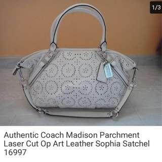Coach Madison Leather Bag