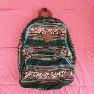 Mossimo Aztec Print Backpack
