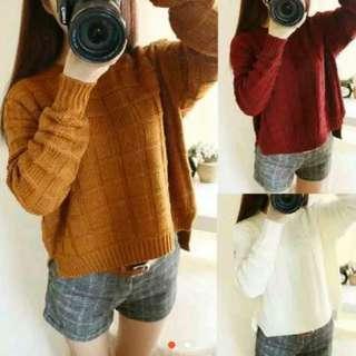 NEW!! Sweater Rajut