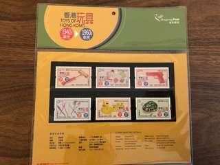 香港玩具郵票紀念set