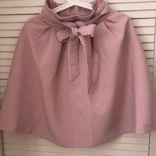日牌粉色半截裙