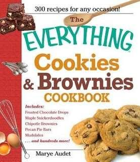 (Ebook) The Everything Cookies & Brownie by Marye Audet