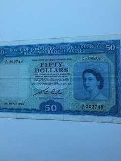 Queen $50 banknote