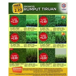 Best Quality Grass Carpets at the cheapest price! Starting from RM2.20/sqft only!!