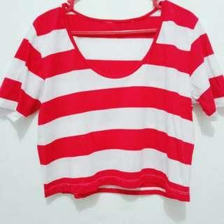 Pirates Crop Tee Shirt